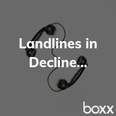 The Decline in Landlines...