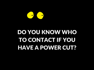 Who to call in a powercut