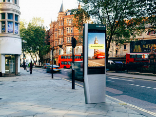 Phone box evolution hits London