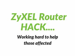 ZyXEL Router Hack - Router Update