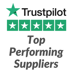 We're a Top Performing Supplier on Trustpilot!